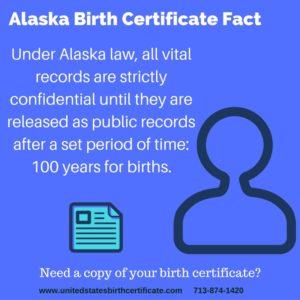 alaska birth certificate fact